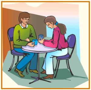 discussing