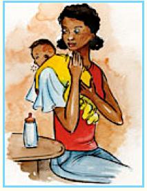 mom-child bond