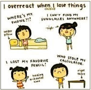 over-react