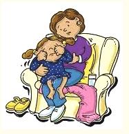 comfort the kid