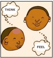 think or feel