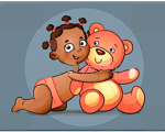 toddler/bear
