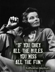 obey the rules