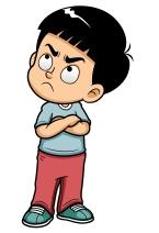 Image result for emotional child cartoon