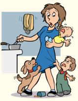 fearful parent