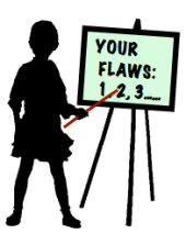 your flaws