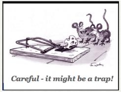 DB mouse trap