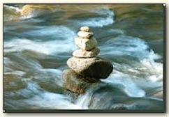 enn water over rocks