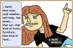 hate things