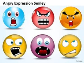 angry expressions