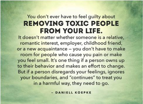 leave toxics