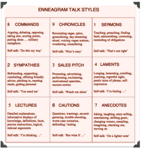 Ennea TALK styles
