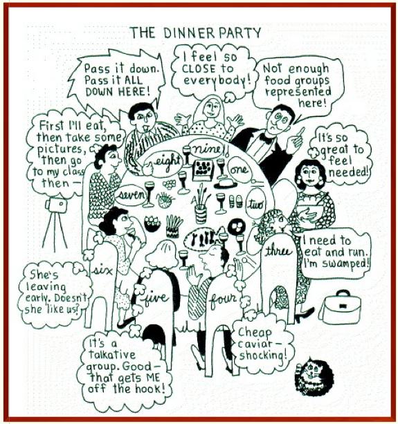ennea dinner types