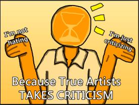 taking criticism