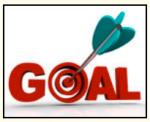 bulls eye- goal