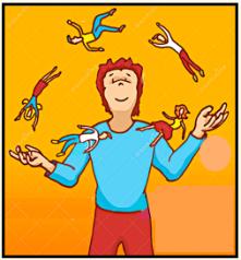 juggling people